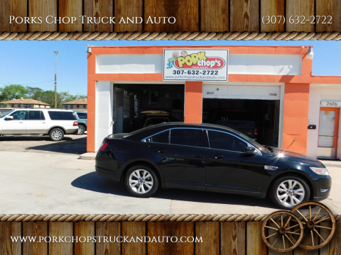 2011 Ford Taurus for sale at Porks Chop Truck and Auto in Cheyenne WY