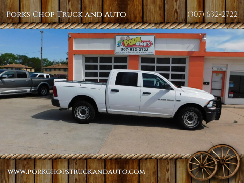 2012 RAM Ram Pickup 1500 for sale at Porks Chop Truck and Auto in Cheyenne WY