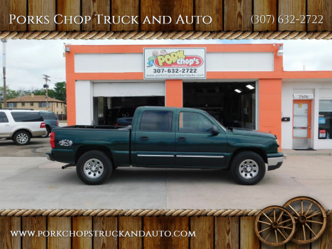 2007 Chevrolet Silverado 1500 Classic for sale at Porks Chop Truck and Auto in Cheyenne WY