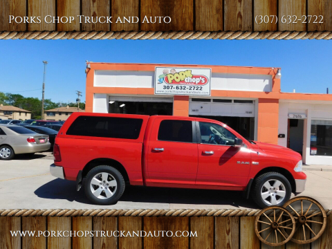 2009 Dodge Ram Pickup 1500 for sale at Porks Chop Truck and Auto in Cheyenne WY