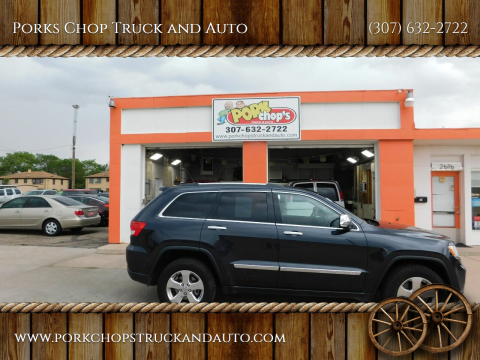 2012 Jeep Grand Cherokee for sale at Porks Chop Truck and Auto in Cheyenne WY