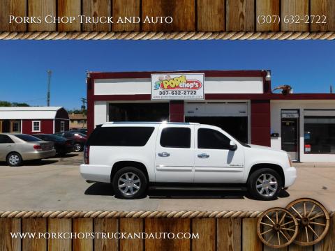 2008 GMC Yukon XL for sale at Porks Chop Truck and Auto in Cheyenne WY