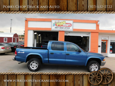 2004 Dodge Dakota for sale at Porks Chop Truck and Auto in Cheyenne WY
