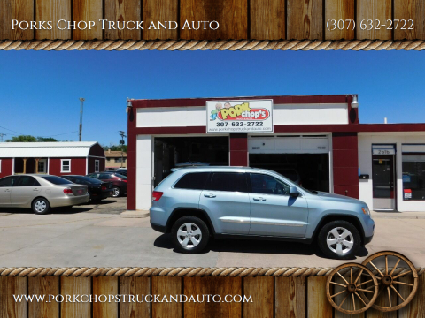 2013 Jeep Grand Cherokee for sale at Porks Chop Truck and Auto in Cheyenne WY