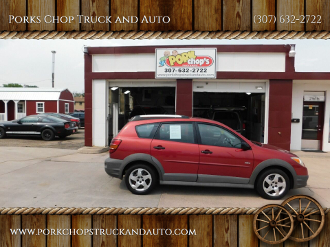2005 Pontiac Vibe for sale at Porks Chop Truck and Auto in Cheyenne WY