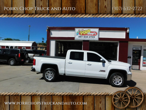 2016 GMC Sierra 1500 for sale at Porks Chop Truck and Auto in Cheyenne WY