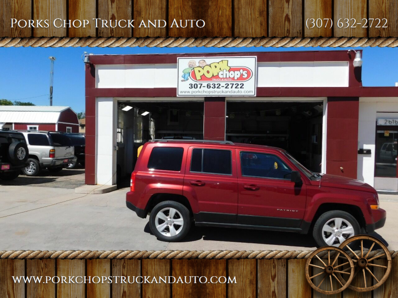 2012 Jeep Patriot for sale at Porks Chop Truck and Auto in Cheyenne WY