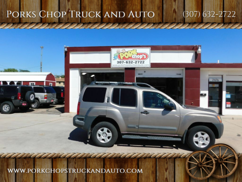 2006 Nissan Xterra for sale at Porks Chop Truck and Auto in Cheyenne WY