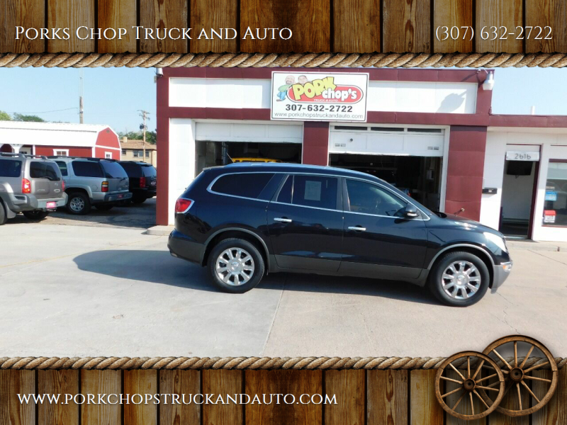 2012 Buick Enclave for sale at Porks Chop Truck and Auto in Cheyenne WY