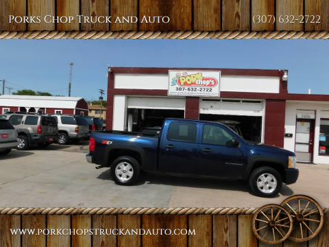 2011 Chevrolet Silverado 1500 for sale at Porks Chop Truck and Auto in Cheyenne WY