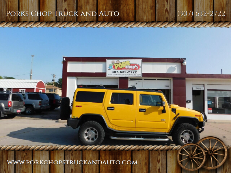 2005 HUMMER H2 for sale at Porks Chop Truck and Auto in Cheyenne WY