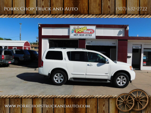 2008 Nissan Armada for sale at Porks Chop Truck and Auto in Cheyenne WY