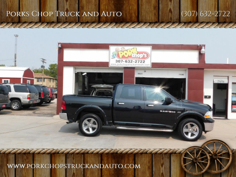 2011 RAM Ram Pickup 1500 for sale at Porks Chop Truck and Auto in Cheyenne WY