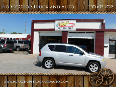 2007 Jeep Compass for sale at Porks Chop Truck and Auto in Cheyenne WY
