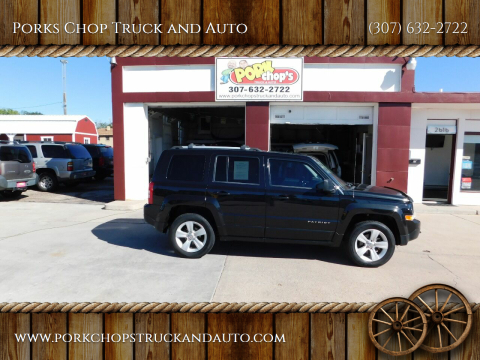 2011 Jeep Patriot for sale at Porks Chop Truck and Auto in Cheyenne WY