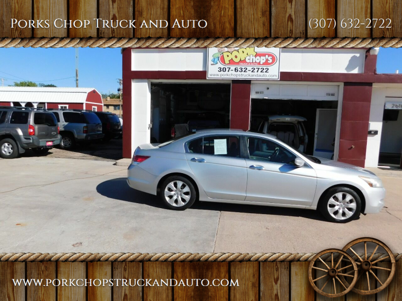 2009 Honda Accord for sale at Porks Chop Truck and Auto in Cheyenne WY