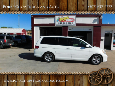 2010 Honda Odyssey for sale at Porks Chop Truck and Auto in Cheyenne WY