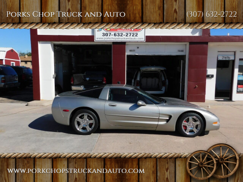 2001 Chevrolet Corvette for sale at Porks Chop Truck and Auto in Cheyenne WY
