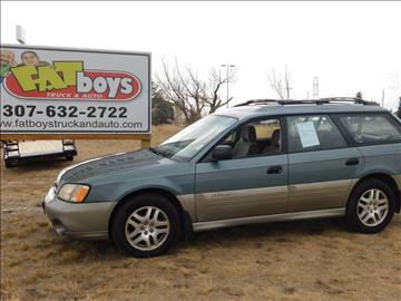 2002 Subaru Outback for sale in Cheyenne, WY