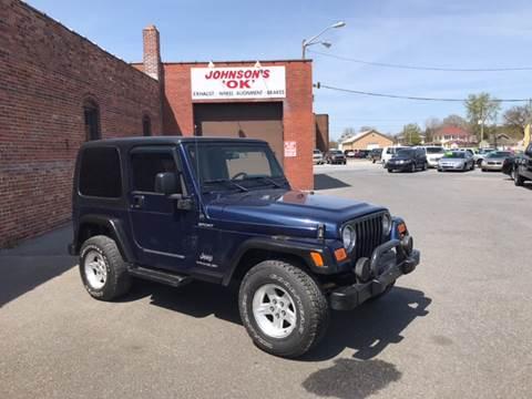 2006 Jeep Wrangler For Sale In Delaware