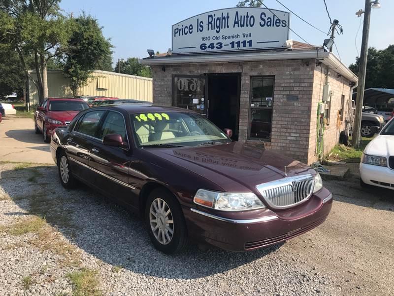 2006 Lincoln Town Car Signature In Slidell La Price Is Right Auto