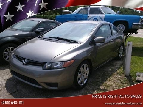 2007 Honda Civic for sale in Slidell, LA