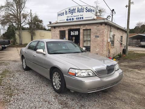 2007 Lincoln Town Car for sale in Slidell, LA