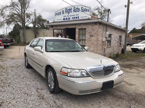 lincoln town car for sale in louisiana. Black Bedroom Furniture Sets. Home Design Ideas