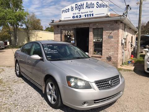 2005 Nissan Altima For Sale In Slidell, LA