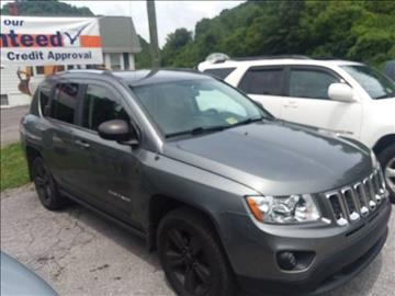 2012 Jeep Compass for sale at T & P Auto Sales in Abingdon VA