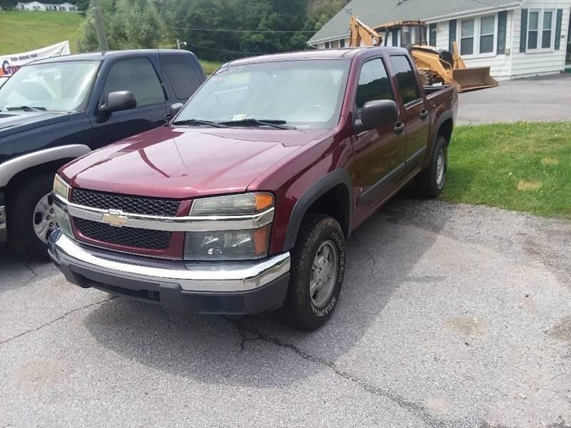 2007 Chevrolet Colorado for sale at T & P Auto Sales in Abingdon VA