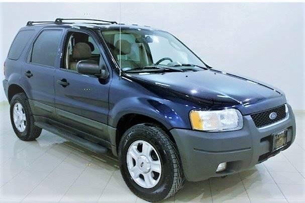 2004 Ford Escape for sale at T & P Auto Sales in Abingdon VA