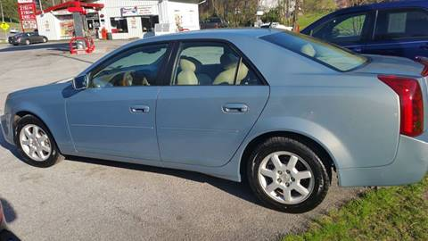 2007 Cadillac CTS for sale at T & P Auto Sales in Abingdon VA