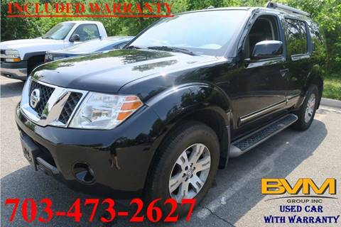2011 Nissan Pathfinder for sale in Chantilly, VA