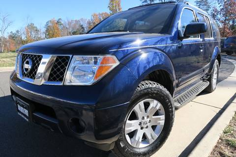 2007 Nissan Pathfinder for sale in Chantilly, VA