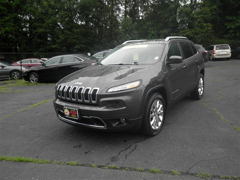 Jeep Credit Union >> 2015 Jeep Cherokee 4x4 Limited 4dr Suv In Winston Salem Nc Credit