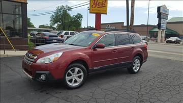 2013 Subaru Outback for sale at Yes! Automotive in Fort Wayne IN