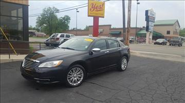 2011 Chrysler 200 for sale at Yes! Automotive in Fort Wayne IN