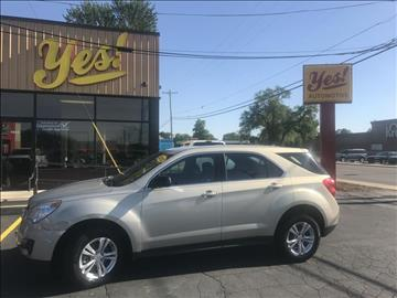 2012 Chevrolet Equinox for sale at Yes! Automotive in Fort Wayne IN