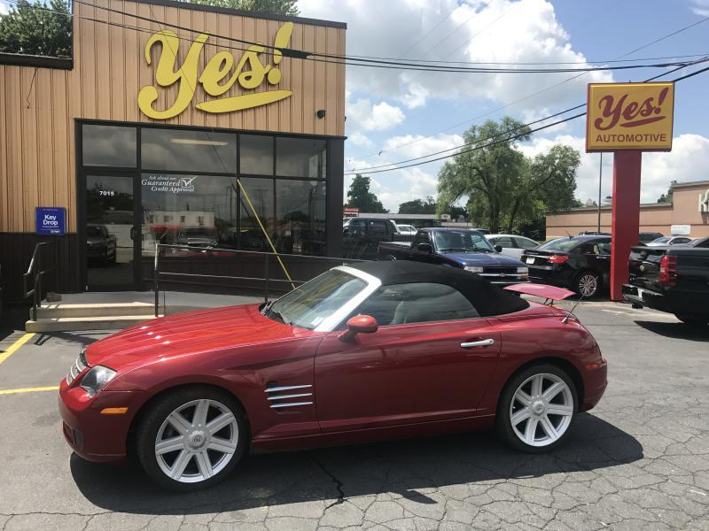 2005 Chrysler Crossfire for sale at Yes! Automotive in Fort Wayne IN
