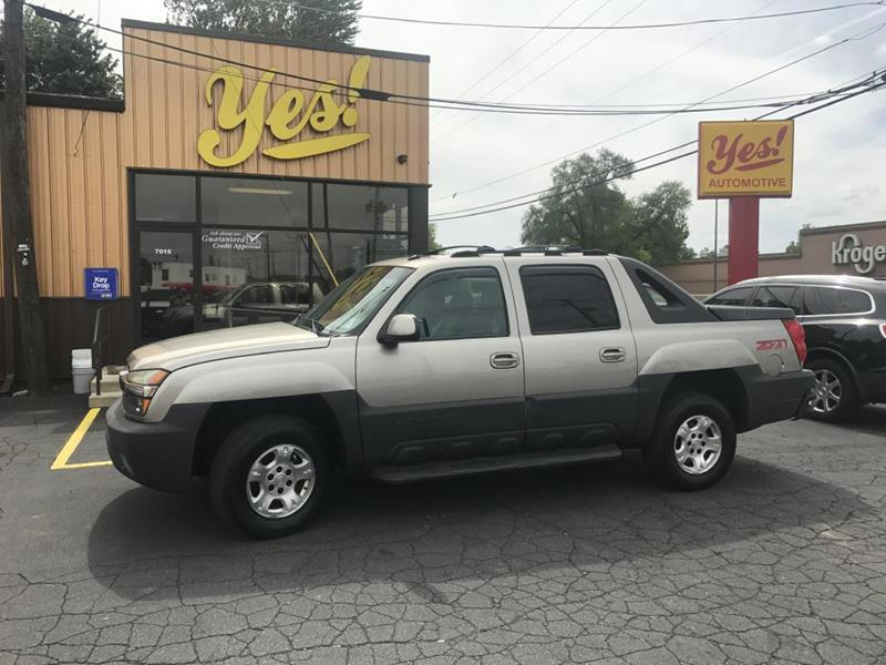 2003 Chevrolet Avalanche for sale at Yes! Automotive in Fort Wayne IN