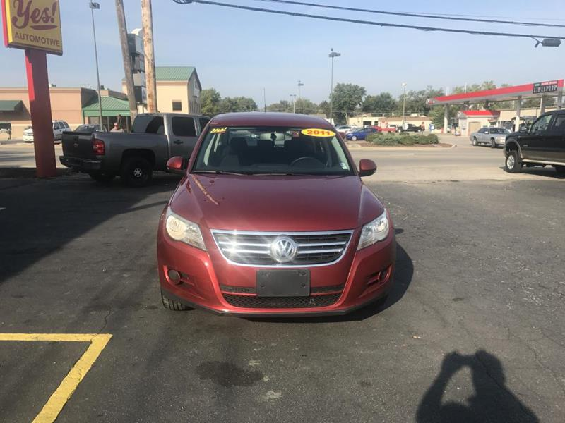 2011 Volkswagen Tiguan for sale at Yes! Automotive in Fort Wayne IN