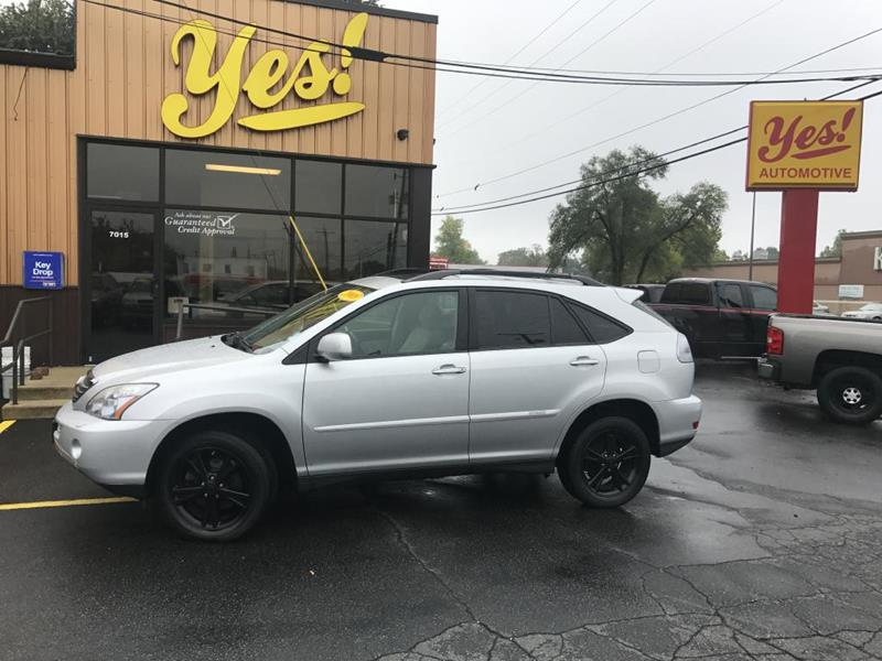 2008 Lexus RX 400h for sale at Yes! Automotive in Fort Wayne IN