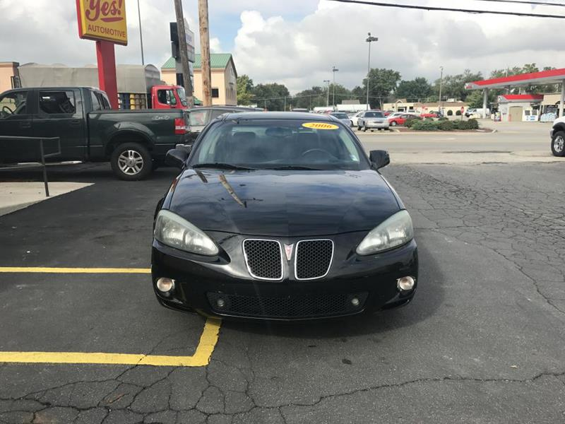 2006 Pontiac Grand Prix for sale at Yes! Automotive in Fort Wayne IN