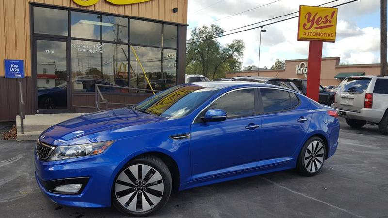 2011 Kia Optima for sale at Yes! Automotive in Fort Wayne IN