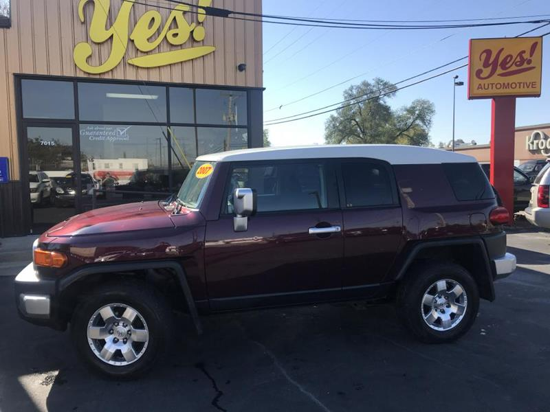 2007 Toyota FJ Cruiser for sale at Yes! Automotive in Fort Wayne IN