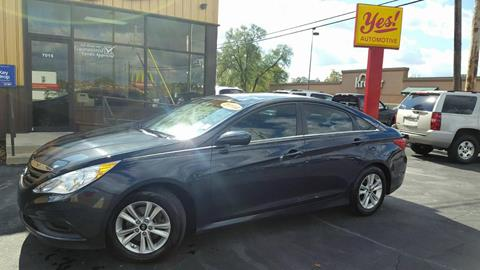 2014 Hyundai Sonata for sale at Yes! Automotive in Fort Wayne IN