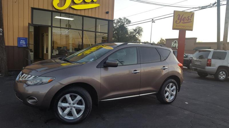 2009 Nissan Murano for sale at Yes! Automotive in Fort Wayne IN