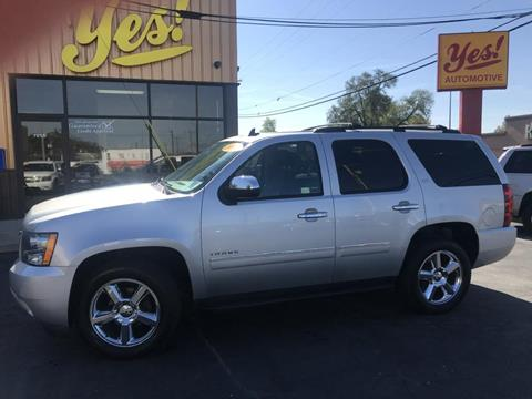 2013 Chevrolet Tahoe for sale at Yes! Automotive in Fort Wayne IN
