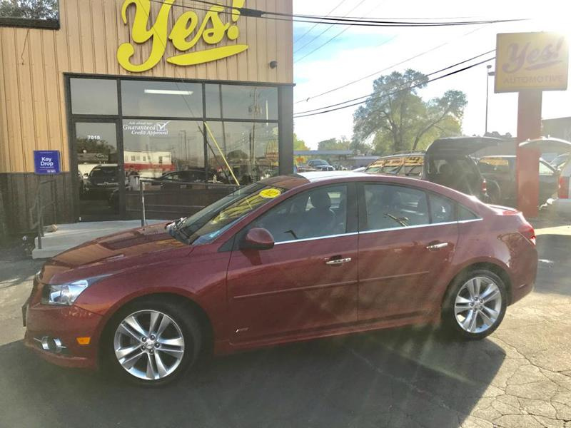 2012 Chevrolet Cruze for sale at Yes! Automotive in Fort Wayne IN